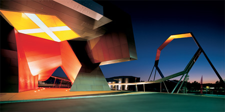 Национальный Музей входа Австралии и петли